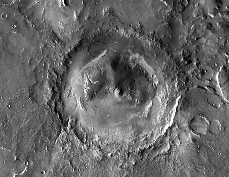 Gale Crater - Mars