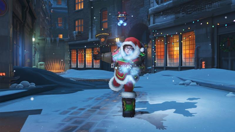 Overwatch Christmas 2019 Skins.Overwatch Blizzard Says Sorry For Mei S Legendary Christmas