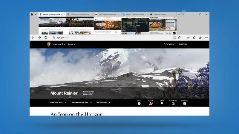 Microsoft Edge gains awesome new features in Windows 10