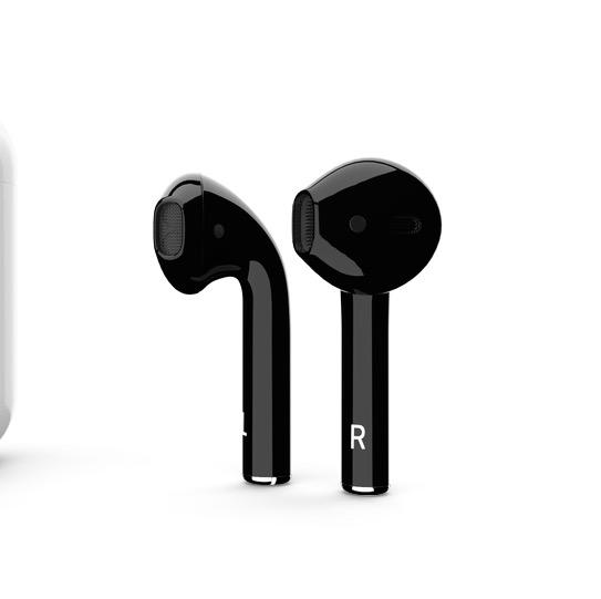 You can buy Jet Black AirPods, but they aren't cheap