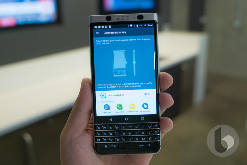 Your BlackBerry KEYone will get Android 8 0 Oreo | TechnoBuffalo