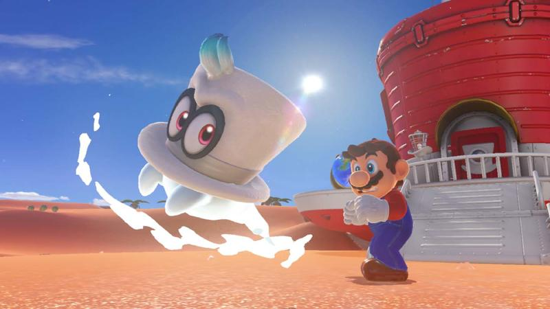 Super Mario Odyssey Player Collects All 880 Moons Without Taking