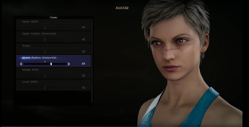 Final Fantasy XV's character creator lets you realize your deepest