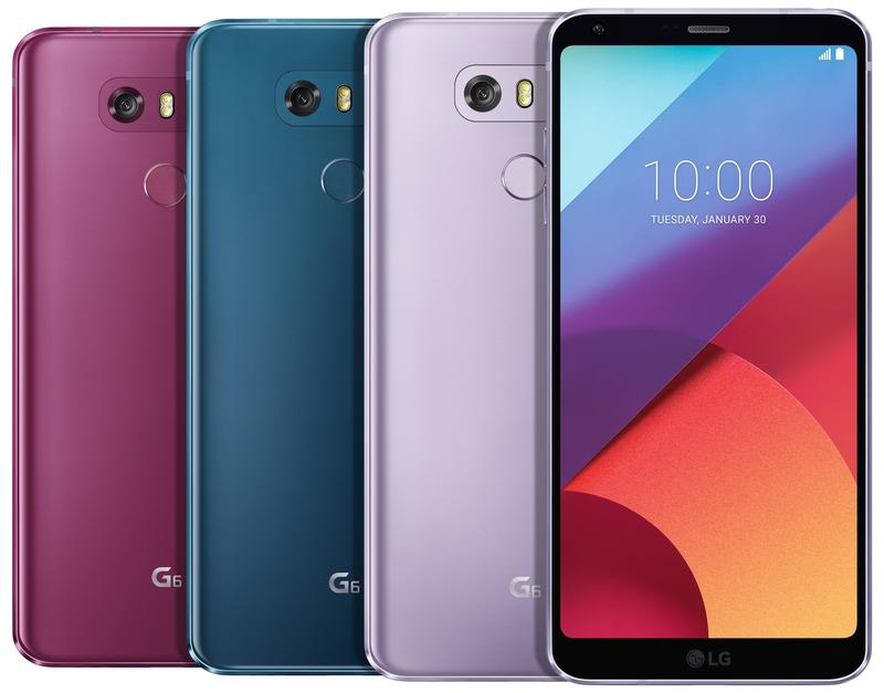 LG G6 gets some more colors a year later | TechnoBuffalo