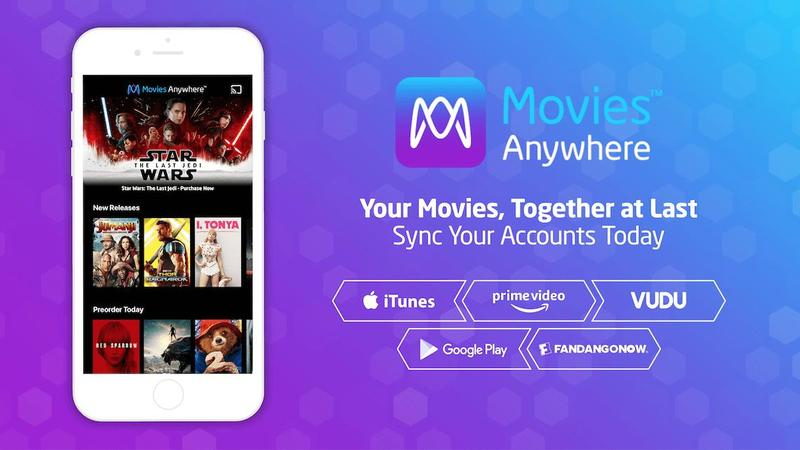 Movies Anywhere Fandango