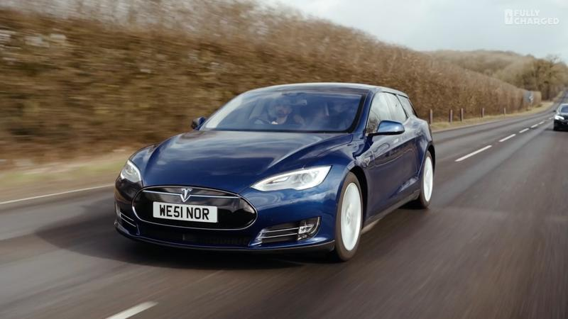 Tesla Model S Station Wagon Looks Insane