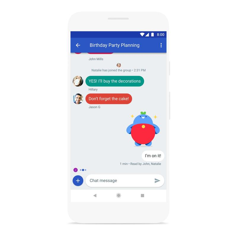 Google is ready to battle iMessage, creates Chat and retires Allo