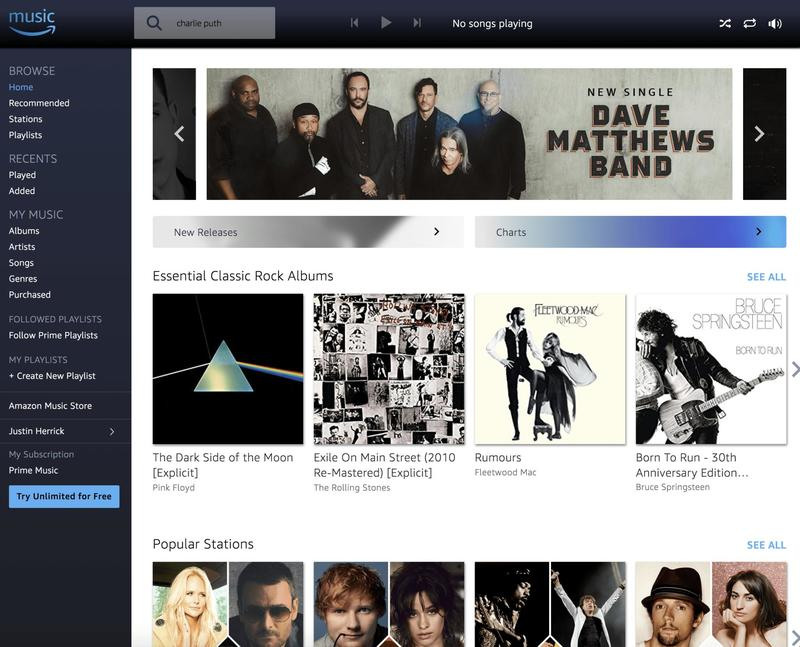 Amazon Prime Music is just good enough, and you already pay