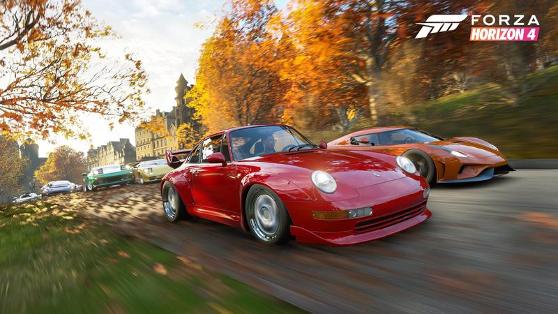Hands-On: Forza Horizon 4 wants you to play online, but
