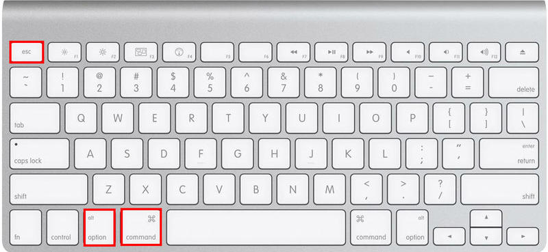 How to Force Quit on a Mac - Cmd Option Escape