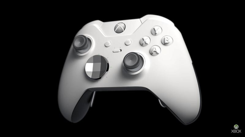 Xbox One X, Elite Controller Go Bright in White Later This