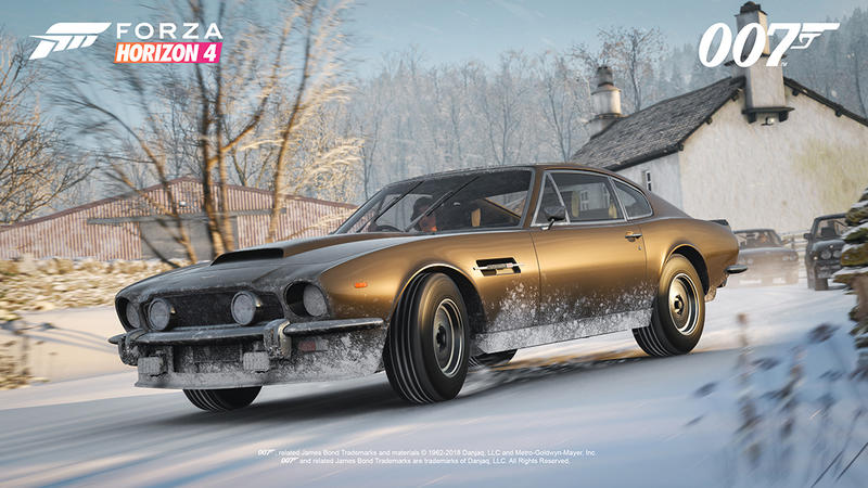 007's Classic Cars are Coming to Forza Horizon 4 - Gadgets
