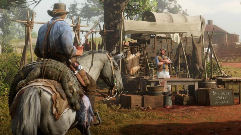 Red Dead Redemption 2 Has a Massive Download | TechnoBuffalo