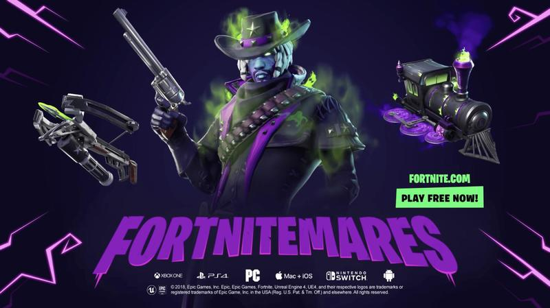 Fortnite Warns of Frightening, Haunted Happenings for