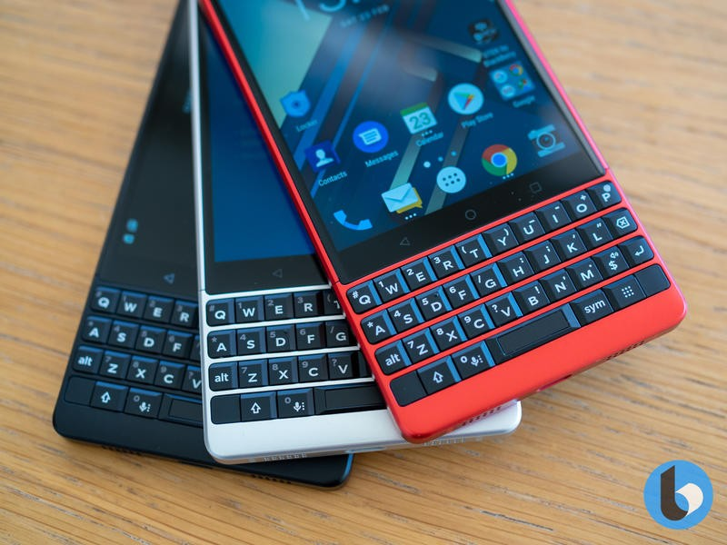 BlackBerry KEY2 Red Edition is a glorious new color for an
