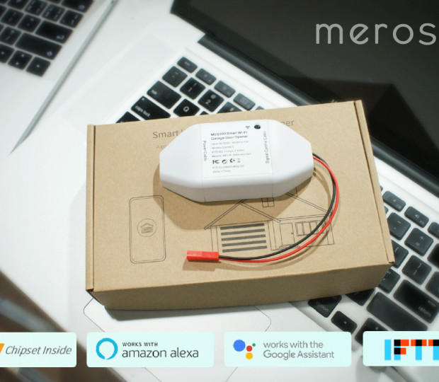 The Meross smart garage door opener gives you more control for just