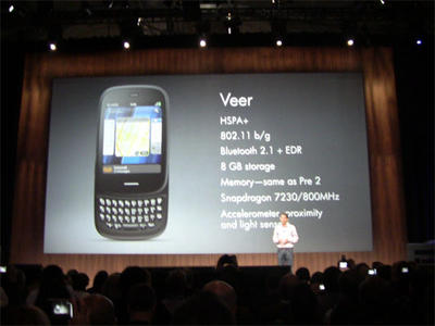 HP Veer Launches With webOS   TechnoBuffalo