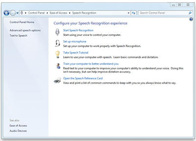 How to Use Windows 7 Speech Recognition | TechnoBuffalo