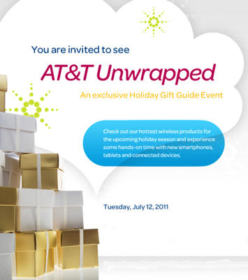 AT&T July event invite