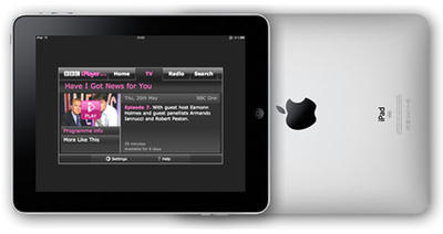 BBC iPlayer Arrives in Europe Today on iPad — Support for