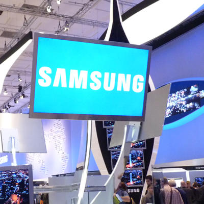 Samsung logo display featured image