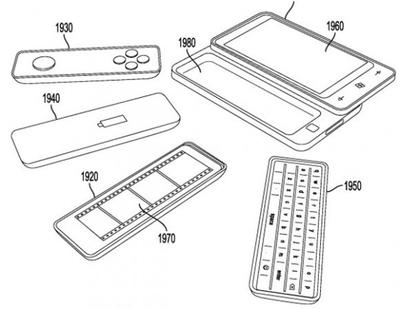 Microsoft patent for interchangeable smartphone accessories