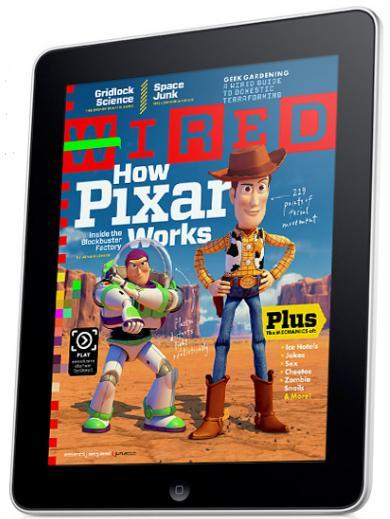 Wired on iPad
