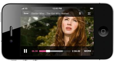 iPlayer on iPhone