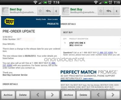 AT&T One X for Best Buy