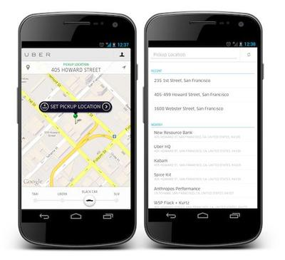 Android-uber-app