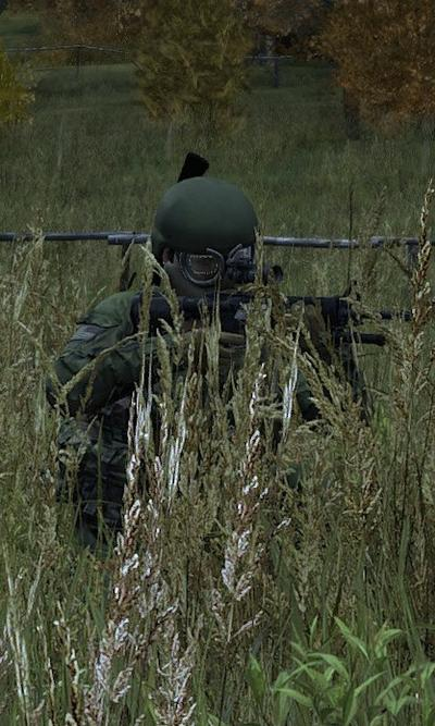 DayZ crouched M4 cropped