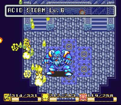 Secret of Mana Frost Gigas