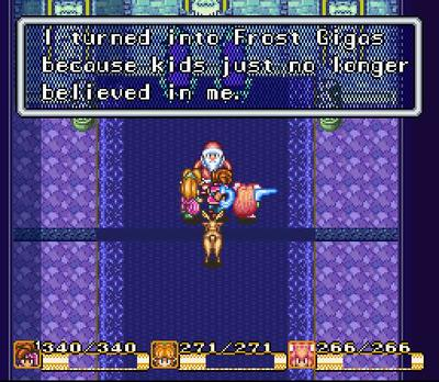 Secret of Mana Santa Claus