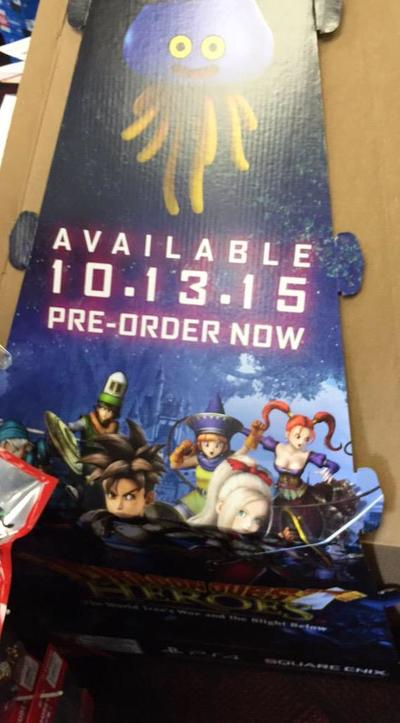 Dragon Quest Heroes release date