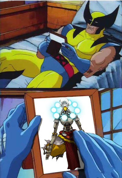 Overwatch Beta Over Sad Wolverine