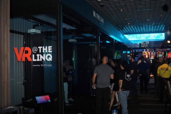 Survios opens first Virtual Reality booths at the LINQ hotel