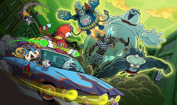 Yo Kai Watch Busters Announced Obvious Ghostbusters Homages