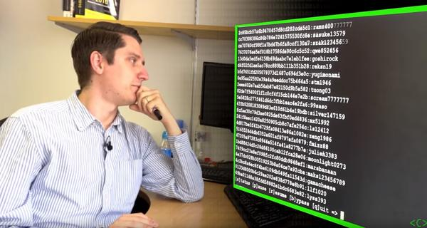 Password Cracking video shows just how easy it is to crack