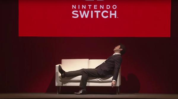 The first Nintendo Switch dies in the wild, blue screen of