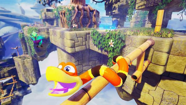 Snake Pass makes our Nintendo Switch's rumble sound broken
