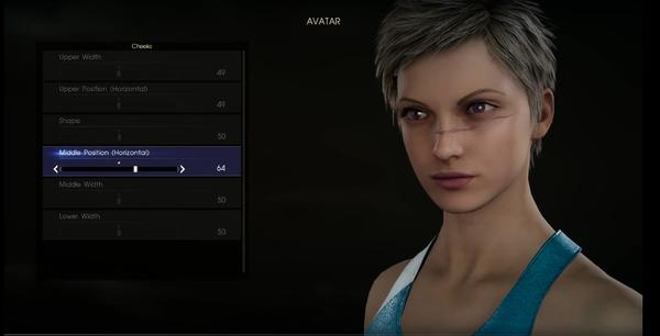 Final Fantasy XV's character creator lets you realize your