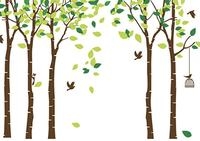 ANBER Giant Jungle Tree Wall Decal  render image