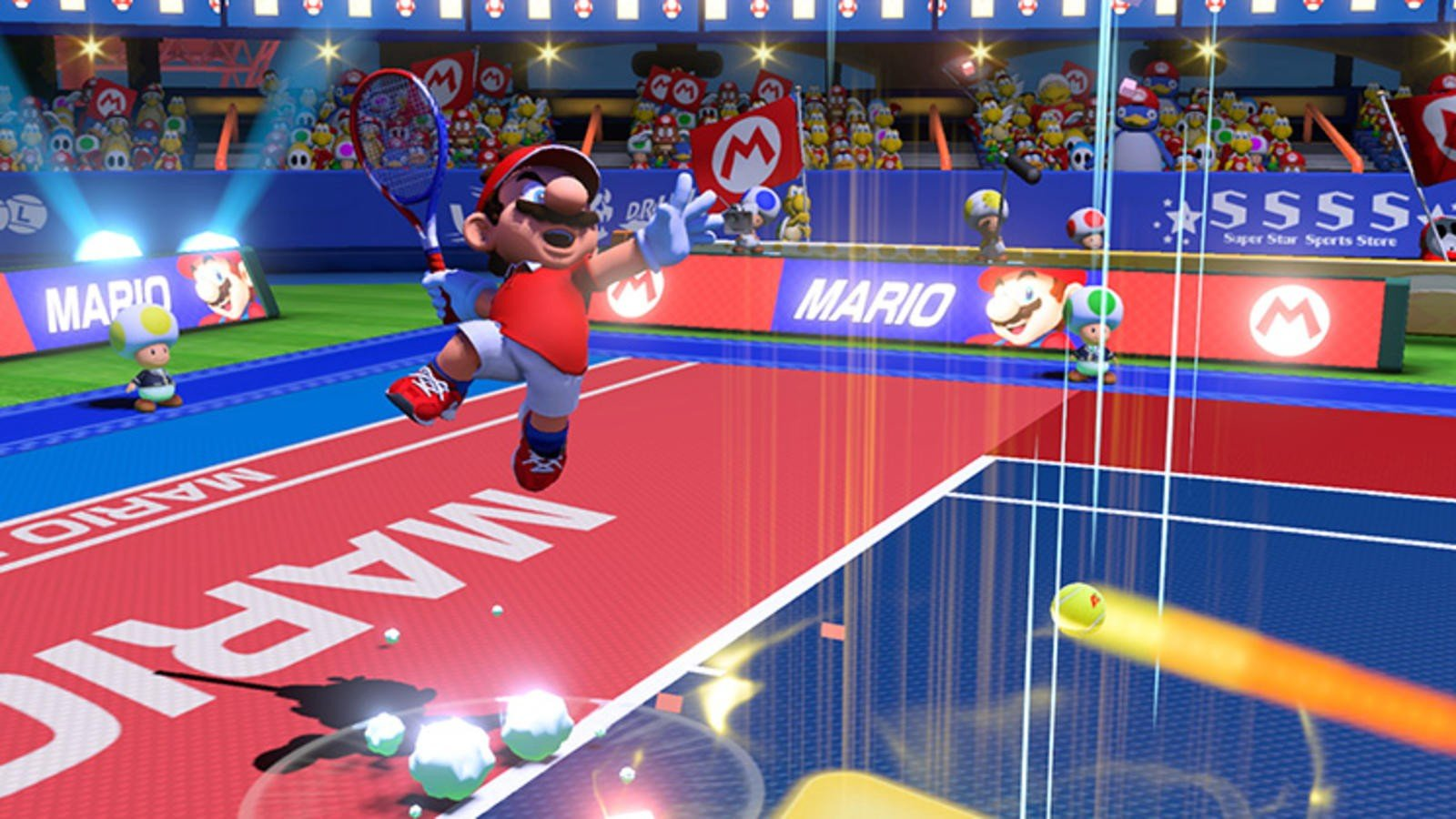 Mario Tennis Aces is the Best Sports games on Nintendo Switch