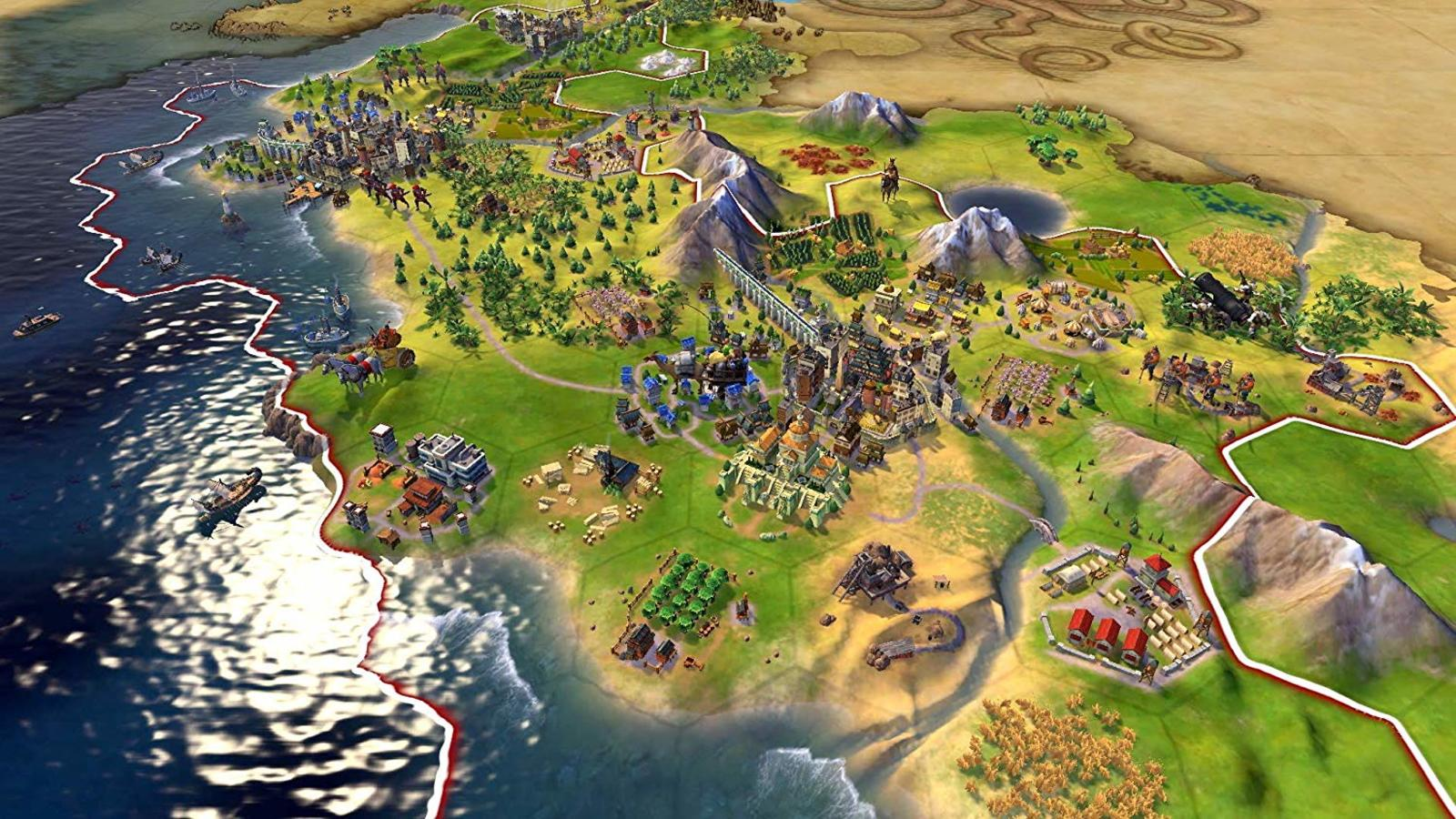 Civilization VI is the best strategy game on Nintendo Switch