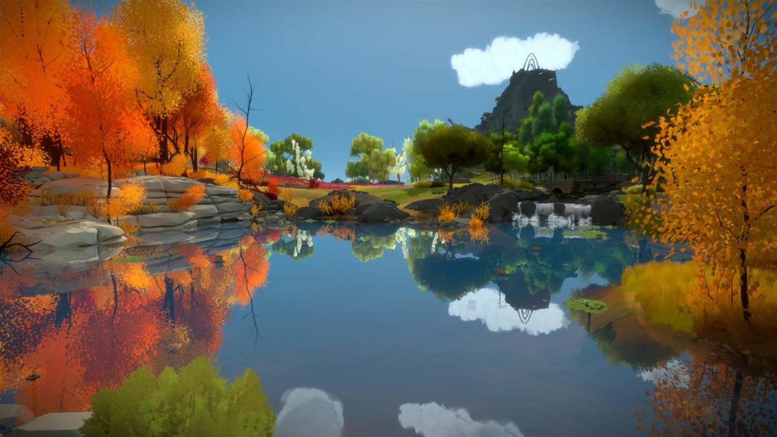The Witness is the best puzzle game on Xbox One