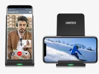 Stack these coupons to snag Choetech's Fast Wireless Charging Stand for $9