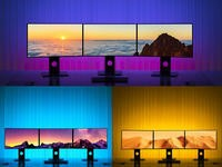 Add some style and color to any room with these $7 RGB light strips