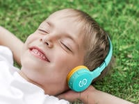 These discounted Bluetooth headphones are made to protect kids' hearing