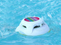 This inexpensive Cowin Bluetooth speaker can float in the pool