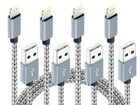 This $7 Lightning Cable 4-pack has various lengths for easy charging